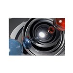 Abstract Camera Lens Rectangle Magnet