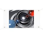 Abstract Camera Lens Banner