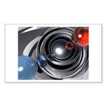 Abstract Camera Lens Sticker (Rectangle)