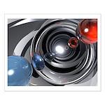 Abstract Camera Lens Small Poster