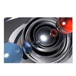 Abstract Camera Lens Postcards (Package of 8)