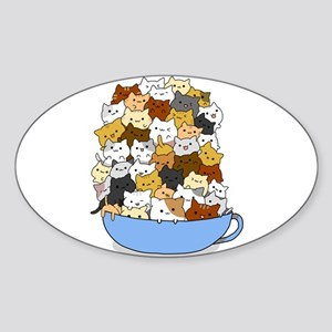 Full Cats Sticker