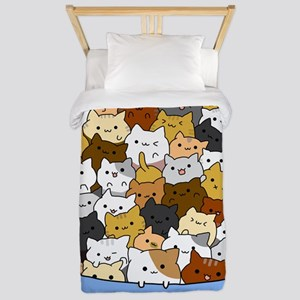 Full Cats Twin Duvet Cover