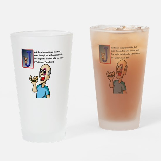 Jack Sprat Drinking Glass
