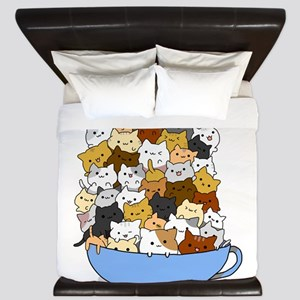 Full Cats King Duvet