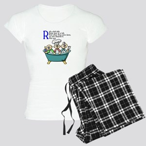 Rub A Dub Women's Light Pajamas