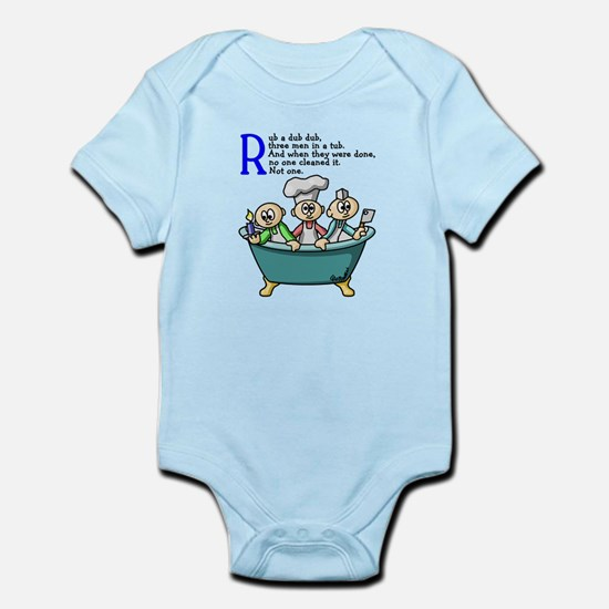 Rub A Dub Infant Bodysuit