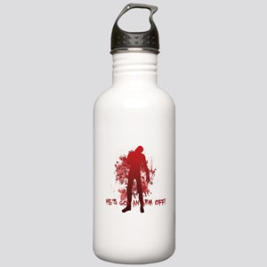 He's got an arm off! Stainless Water Bottle 1.0L