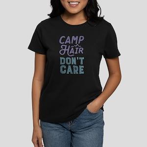 Camp Hair Don't Care Women's Dark T-Shirt