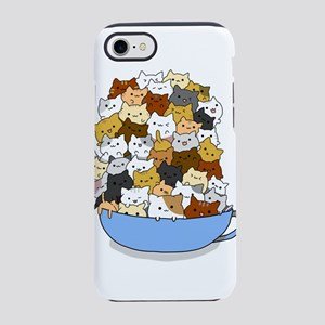 Full Cats iPhone 7 Tough Case