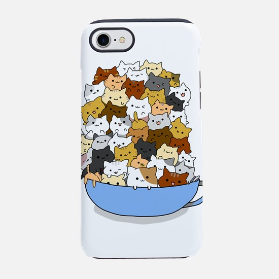 Full Cats iPhone 7 Tough Case