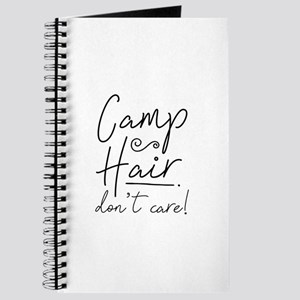 Camp Hair Don't Care Journal