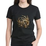 Whitetail Buck Deer Antler Art Cluster Women's Dar