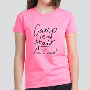 Camp Hair Don't Care Women's Dark T-Shirt