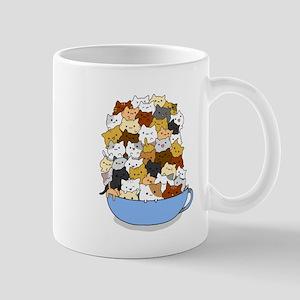 Full Cats Mugs