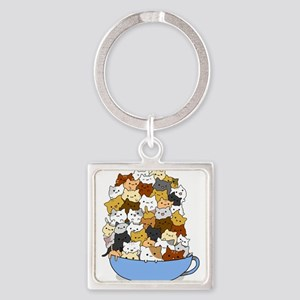 Full Cats Keychains