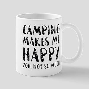 Camping Makes Me Happy Mug