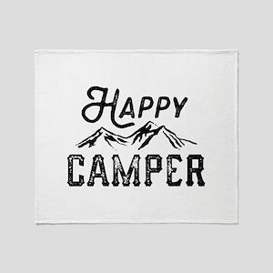 Happy Camper Stadium Blanket