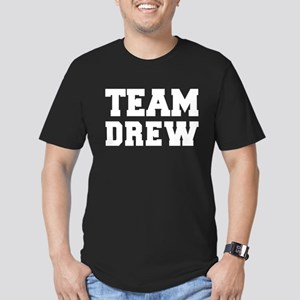 TEAM DREW Men's Fitted T-Shirt (dark)