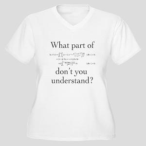 What Part of... Women's Plus Size V-Neck T-Shirt