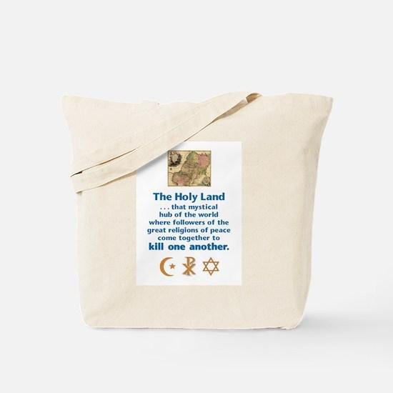 Holy Land Tote Bag