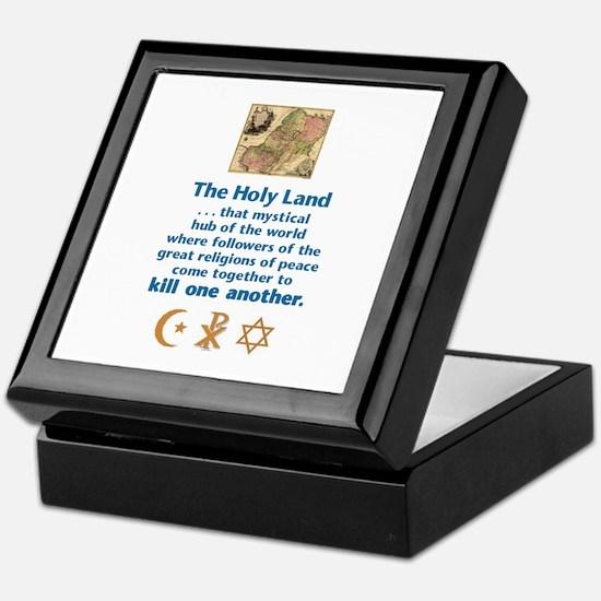 Holy Land Keepsake Box
