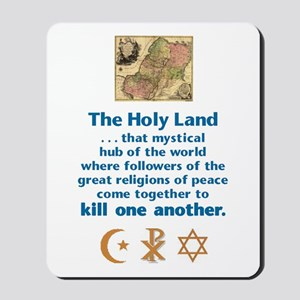Holy Land Mousepad