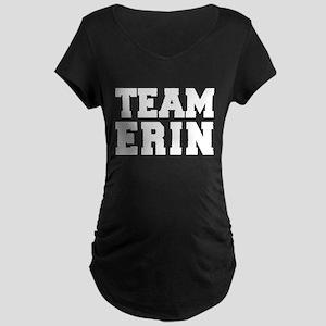TEAM ERIN Maternity Dark T-Shirt