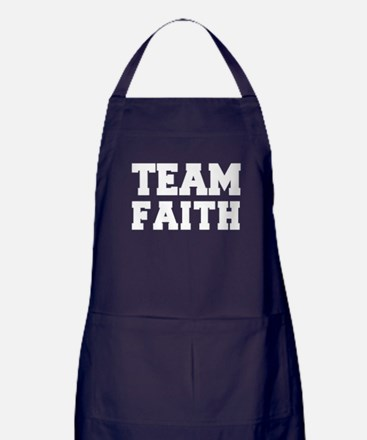 TEAM FAITH Apron (dark)