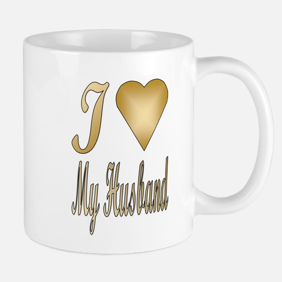 I heart...Husband Mug