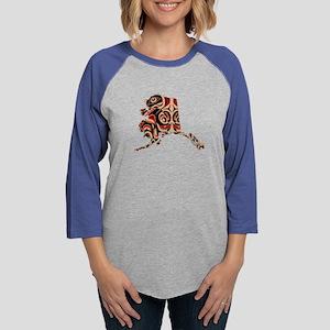 FOR ALASKA Womens Baseball Tee