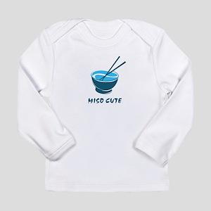2-MisoCuteBlue2 Long Sleeve T-Shirt