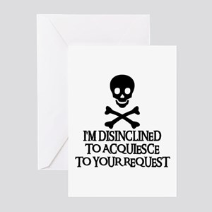 DISINCLINED Greeting Cards (Pk of 10)