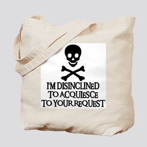 DISINCLINED Tote Bag