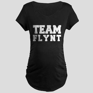 TEAM FLYNT Maternity Dark T-Shirt