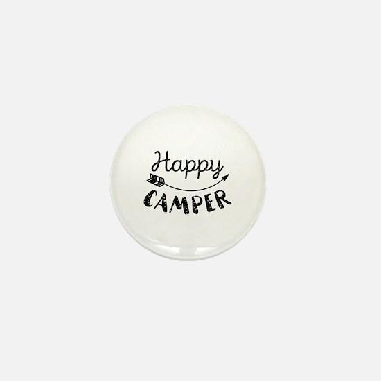 Happy Camper Mini Button