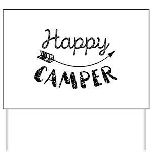 Funny Camping Yard Signs