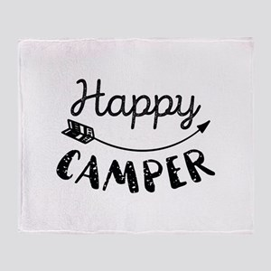 Happy Camper Stadium Blanket
