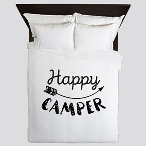 Happy Camper Queen Duvet