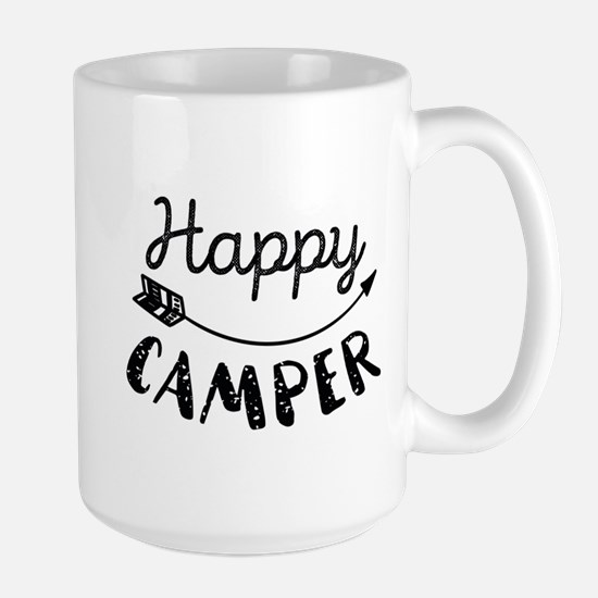 Happy Camper Large Mug