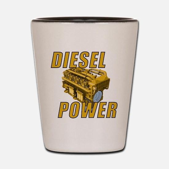 Diesel Engine Power Shot Glass