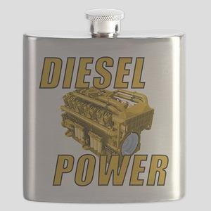 Diesel Engine Power Flask
