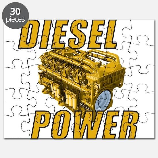 Diesel Engine Power Puzzle