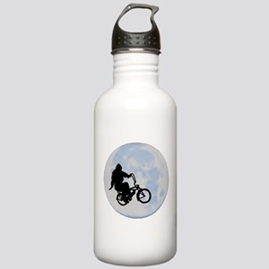 Bigfoot on bicycle Stainless Water Bottle 1.0L