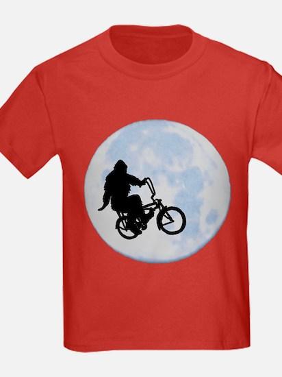 Bigfoot on bicycle T