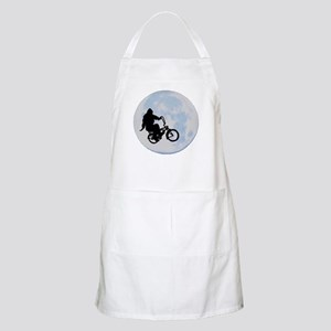 Bigfoot on bicycle Apron