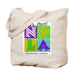Its Back New Orleans NOLA parade bead bag