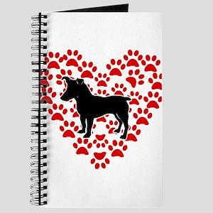 Love My Jack Russell terrier Journal