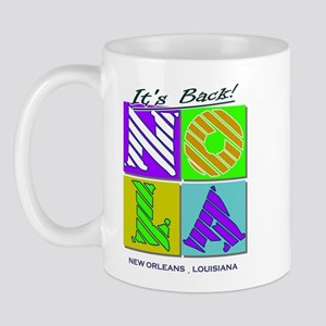 Its Back New Orleans NOLA Mug