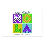 Its Back New Orleans NOLA Postcards (Package of 8)